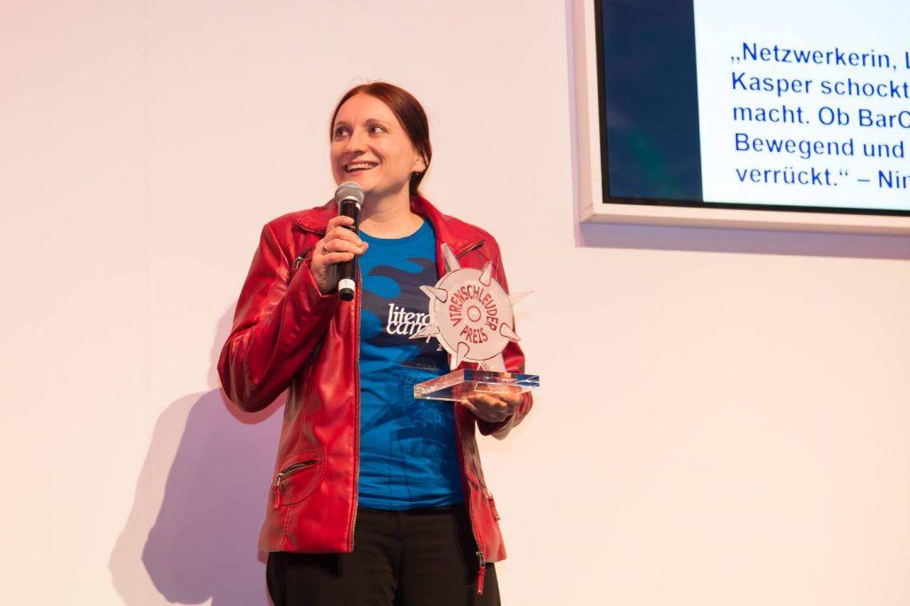 Susanne Kasper von Literaturschock